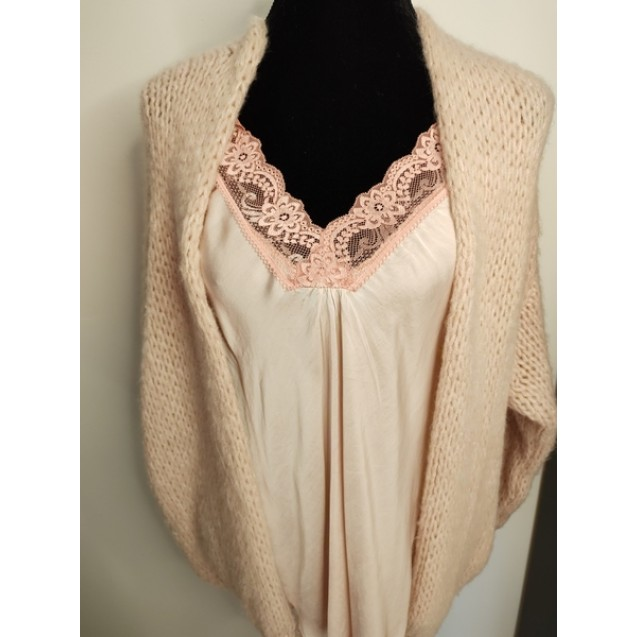 FS Collection Cardigan Soft Pink Short