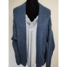 FS Collection Cardigan Jeans Blue Short