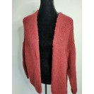 FS Collection Cardigan Dark Red Short